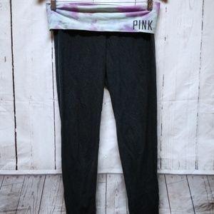 Victoria's Secret PINK Yoga Black Leggings Size S